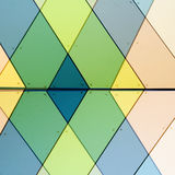 абстрактный фасад Стоковые Изображения