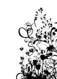 абстрактный флористический вектор Стоковые Изображения