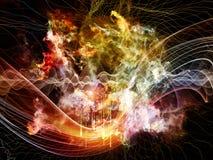 Абстрактный фон визуализирования Стоковая Фотография RF
