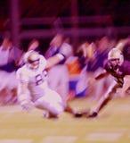 абстрактный футбол нерезкости действия Стоковая Фотография