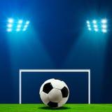 абстрактный футбол футбола предпосылок Стоковое Фото