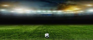 абстрактный футбол футбола предпосылок Стоковая Фотография RF