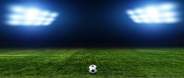 абстрактный футбол футбола предпосылок Стоковые Фото