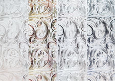 Абстрактный флористический орнамент стоковое фото rf
