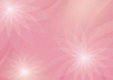 Абстрактный флористический свет - розовая предпосылка для дизайна иллюстрация вектора