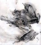 абстрактный ход краски щетки стоковая фотография rf