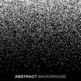 Абстрактный хлопь снега полутонового изображения градиента ставит точки предпосылка Стоковые Фотографии RF
