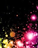 абстрактный цветастый свет Стоковое Фото