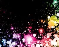 абстрактный цветастый свет Стоковое Изображение RF