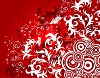 абстрактный цветок предпосылки Стоковое Изображение