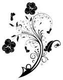 абстрактный цветок предпосылки бесплатная иллюстрация
