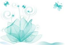 абстрактный цветок предпосылки Стоковое фото RF
