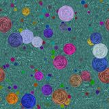 абстрактный цветок предпосылки Стоковая Фотография