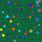 абстрактный цветок предпосылки Стоковая Фотография RF