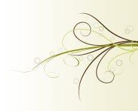 абстрактный цветок элемента конструкции предпосылки Стоковая Фотография