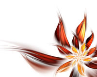 абстрактный цветок Стоковые Изображения RF