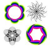 абстрактный цветок иллюстрация вектора