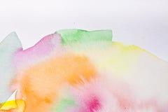 Абстрактный цвет воды Стоковое фото RF