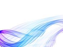 абстрактный цвет волнистый Стоковая Фотография RF