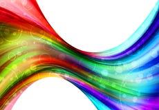 абстрактный цвет предпосылки Стоковая Фотография RF