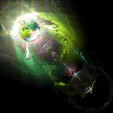 абстрактный цвет Стоковые Изображения RF