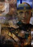 абстрактный человек Стоковое Изображение