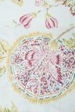 Абстрактный чертеж на холсте Стоковые Изображения RF