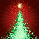 абстрактный чертеж рождества предпосылки праздничный бесплатная иллюстрация