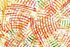 абстрактный чертеж цвета красит воду Стоковые Изображения RF