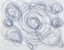 абстрактный чертеж Стоковая Фотография RF