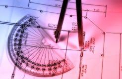 абстрактный чертить стоковое изображение rf