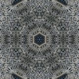 Абстрактный шаблон дизайна мандалы стоковое фото