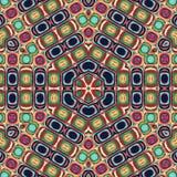 Абстрактный шаблон дизайна мандалы иллюстрация штока