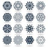 Абстрактный шаблон дизайна вектора логотипа Стоковая Фотография RF