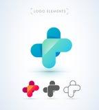 Абстрактный шаблон логотипа стиля origami письма x Значок применения Стоковое фото RF