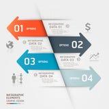 Абстрактный шаблон infographics дела. Стоковые Фото