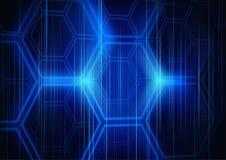 Абстрактный шестиугольник предпосылки Стоковая Фотография RF