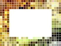 абстрактный ый черепицей квадрат мозаики рамки Стоковые Изображения