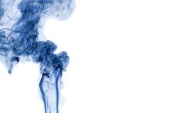 Абстрактный изолированный дым стоковая фотография