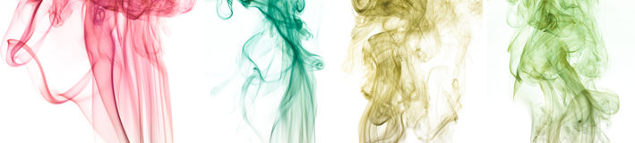 абстрактный дым картины Стоковое фото RF
