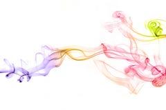 абстрактный дым предпосылки Стоковые Изображения