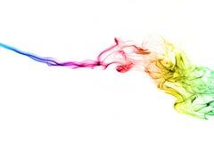 абстрактный дым предпосылки Стоковая Фотография