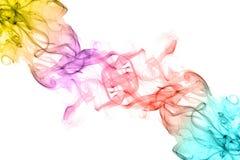 абстрактный дым предпосылки Стоковое Изображение