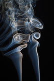 абстрактный дым Стоковые Изображения