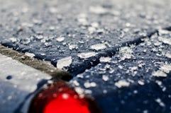 абстрактный льдед стоковая фотография
