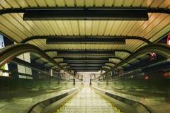 абстрактный эскалатор Стоковое Изображение