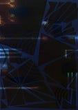 Абстрактный элемент предпосылки в голубых и белых цветах Стоковое фото RF