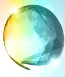 абстрактный яркий пузырь Стоковая Фотография