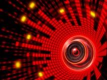 абстрактный ядровый диктор Стоковое Изображение RF