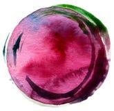 Абстрактный acrylic и покрашенная акварелью предпосылка Стоковое фото RF